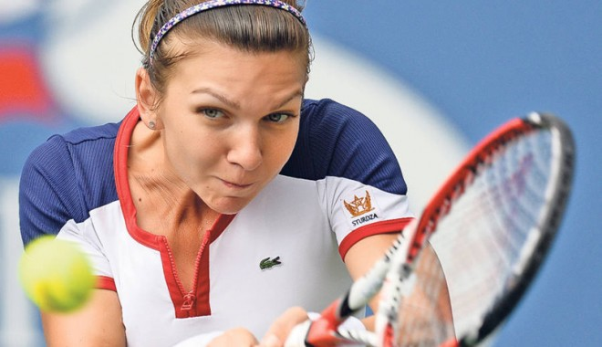 Foto: Simona Halep, titulară în echipa României pentru Fed Cup