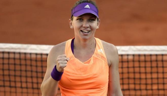 Foto: Simona Halep, debut cu dreptul la BRD Bucharest Open