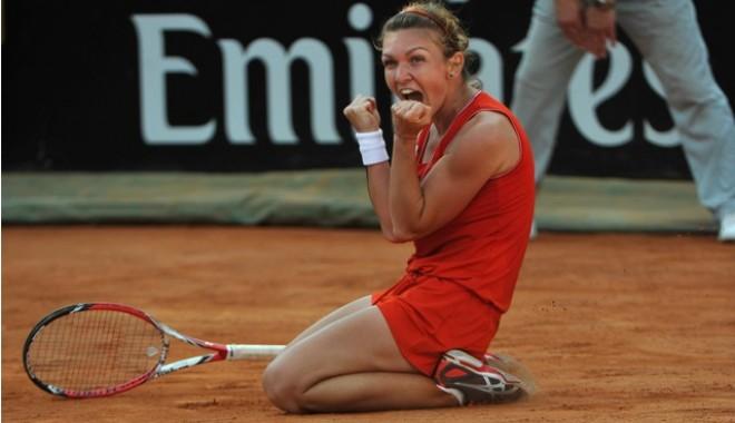 Foto: Tenis / Simona Halep s-a calificat în finala turneului BRD Bucharest Open