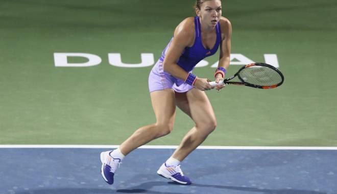 Foto: Simona Halep vs. Ana Ivanovic, în turneul de la Dubai