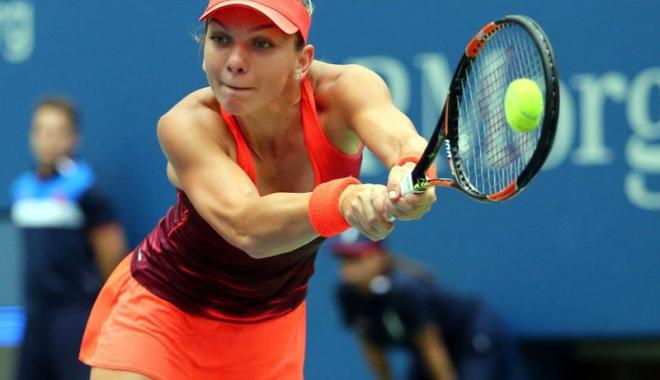 Foto: Simona Halep se menajează înainte de Australian Open