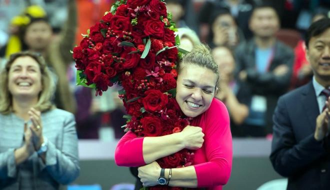 """Foto: Simona Halep: """"Următorul obiectiv - câștigarea unui turneu de Grand Slam"""""""