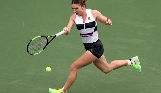 Foto: Simona Halep, eliminată din turneul de la Dubai