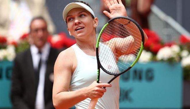 Foto: Simona Halep, în urcare în clasamentul WTA