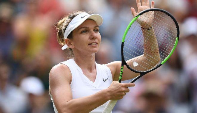 Foto: Simona Halep, calificată în premieră în finala de la Wimbledon