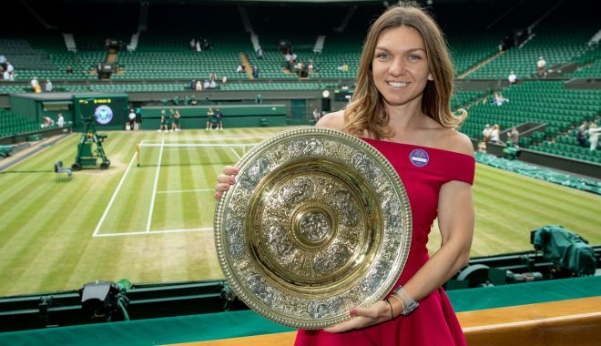 Foto: Simona Halep, tristă din cauza amânării turneului de la Wimbledon