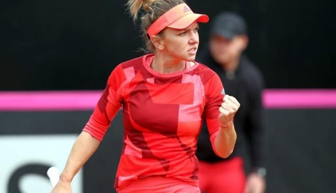 Foto: Simona Halep joacă, astăzi, pentru un loc în semifinală, la Stuttgart