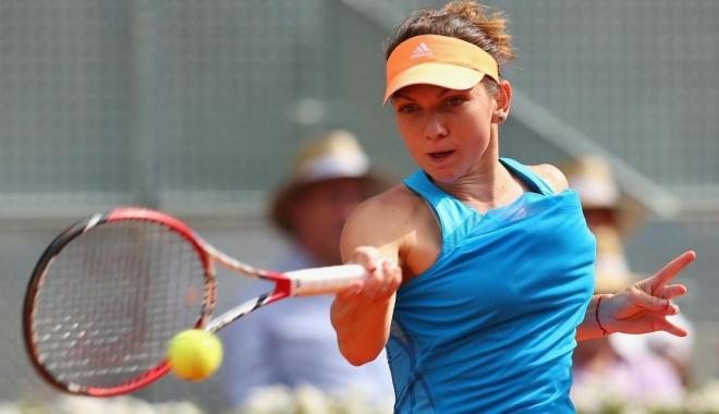 Foto: Simona Halep, victorie la Madrid. S-a calificat în turul doi, alături de Irina Begu, la dublu