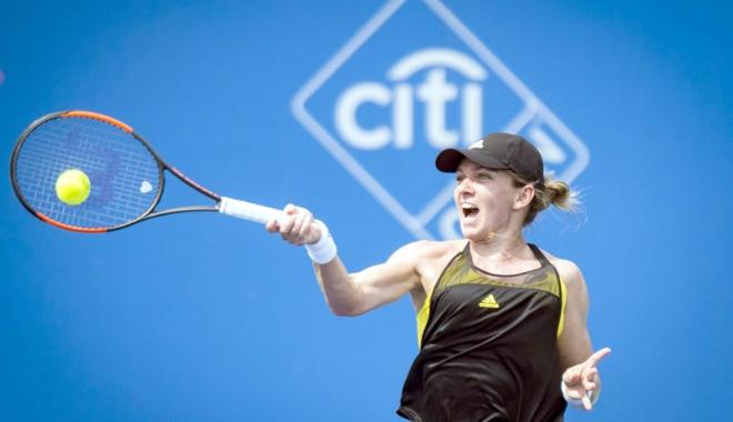 Foto: Simona Halep, debut victorios la Toronto