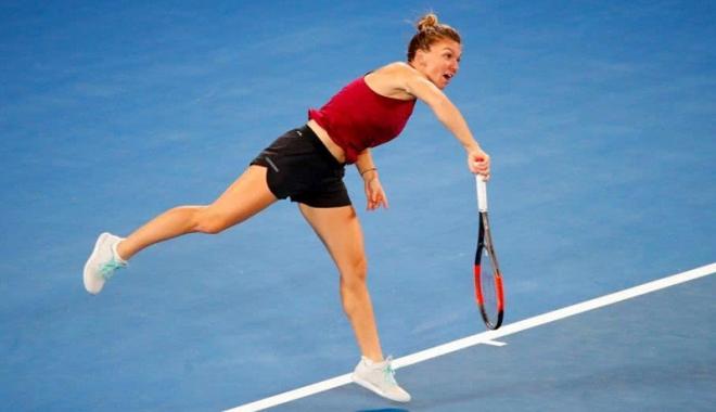 Foto: Simona Halep  a încheiat rapid conturile cu Eugenie Bouchard, la Aussie Open