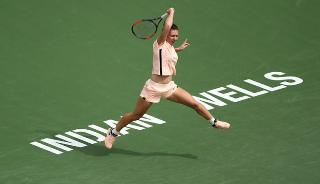 Foto: Simona Halep s-a calificat în turul 3 la Miami