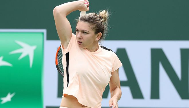 Foto: Simona Halep pierde confruntarea cu Agnieszka Radwanska, la Miami