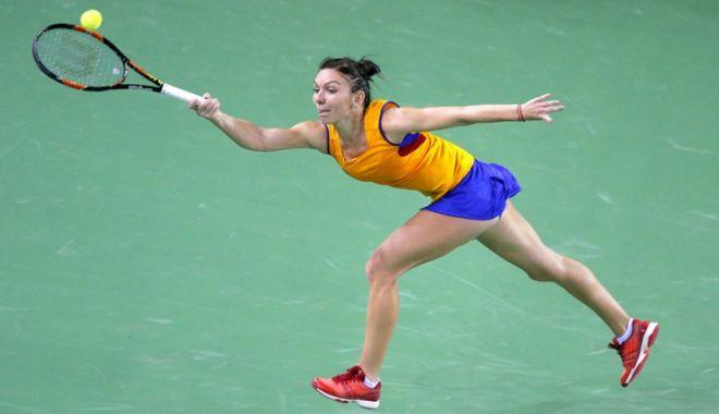 Foto: Simona Halep, confirmată în lotul de Fed Cup al României pentru meciul cu Elveţia