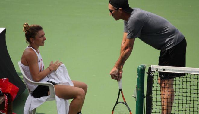"""Foto: Simona Halep: """"Nu este uşor să îmi aleg un alt antrenor"""""""