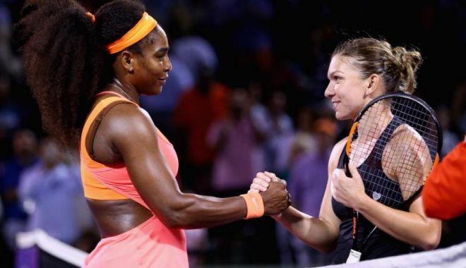 Foto: Simona Halep o înfruntă pe Serena Williams, la Australian Open