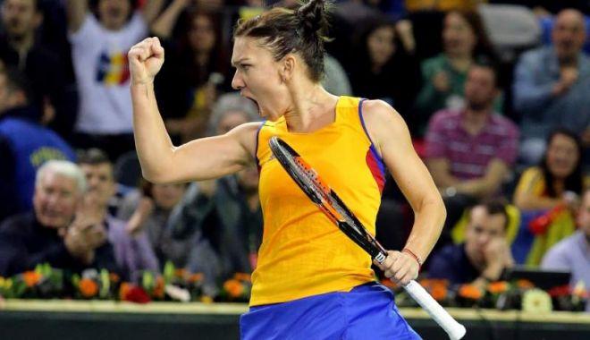 """Foto: Simona Halep: """"Grand Slam-urile şi Fed Cup, pe aceeaşi treaptă a importanţei"""""""