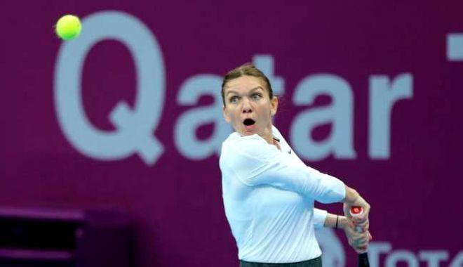 Foto: Tenis, WTA Dubai / Simona Halep va juca joi în sferturi, nu înainte de ora 17:00
