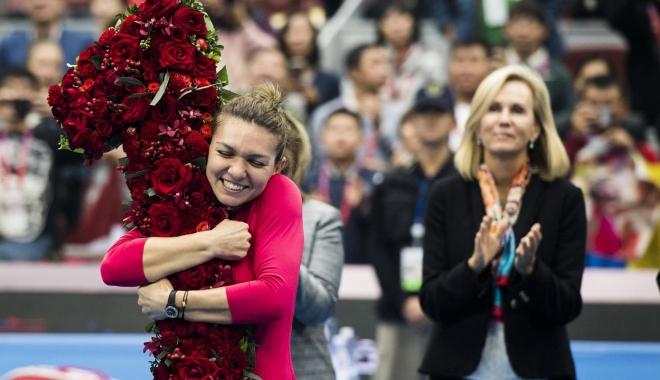 """Foto: Simona Halep, numărul 1 mondial. """"Tată, am reuşit!"""""""