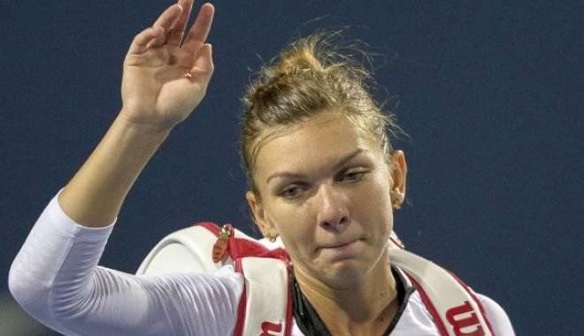 Foto: Simona Halep, învinsă de Ana Ivanovic, în optimile turneului WTA de la Dubai