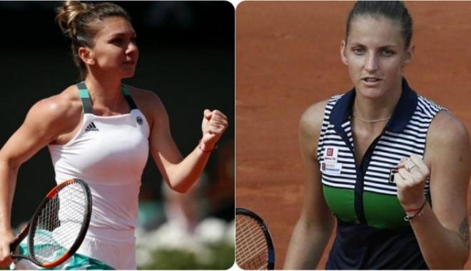 Tenis / Simona Halep - Karolina Pliskova se va disputa miercuri, după ora 06.00 - simonahalepkarolinapliskova-1516705808.jpg