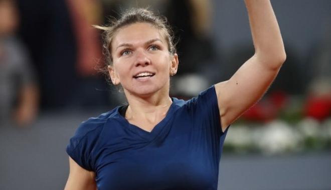 Foto: Cu sufletul la gură: Simona Halep vs. Magdalena Rybarikova, în turul 2 la Toronto