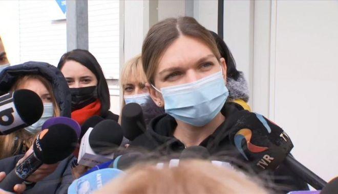 Simona Halep s-a vaccinat împotriva coronavirusului: