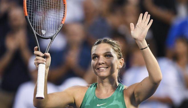 Foto: Simona Halep a câştigat premiul WTA pentru lovitura anului