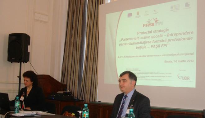 Foto: Învăţământul profesional, dependent de parteneriatul şcolii cu întreprinderile
