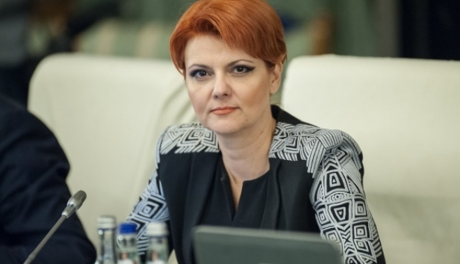 Foto: Se cere demisia ministrului Muncii, Lia Olguţa Vasilescu. Iată motivul
