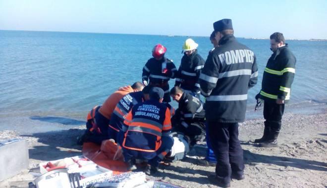 Foto: A venit la mare să se sinucidă
