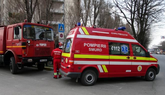 Foto: Scene de groază în Constanţa. O femeie s-a aruncat de la etajul 3