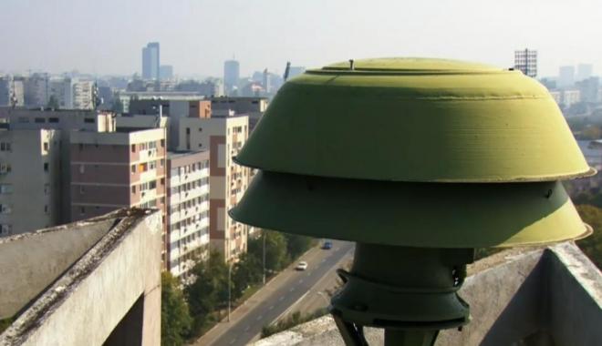 Foto: Astăzi sună sirenele, la Constanţa! Exerciţiul lunar de verificare a sistemului de alarmare