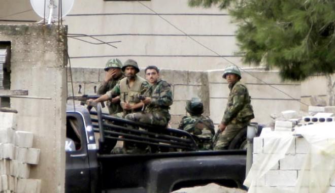 Foto: �ncepe r�zboiul?  Armata sirian� a arestat cinci militari iranieini