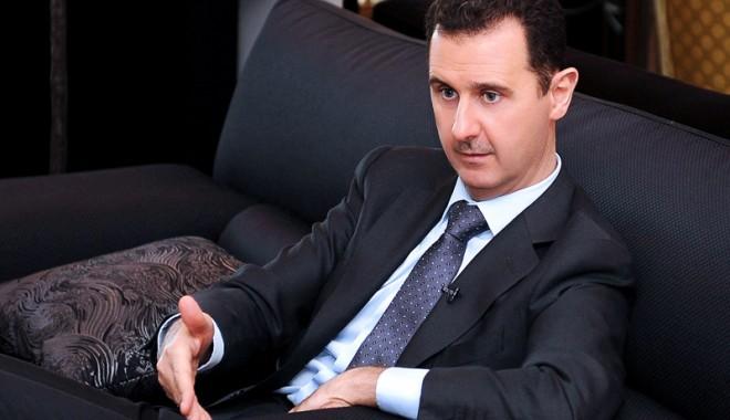 Foto: Preşedintele Siriei  a promulgat  o nouă amnistie