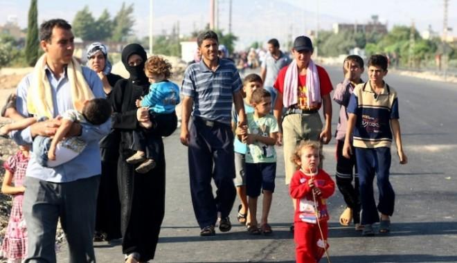 Foto: ONU cere statelor membre UE să nu le refuze intrarea refugiaților sirieni
