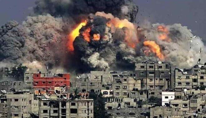 Foto: Siria: Au fost reluate bombardamentele în sudul țării după eșecul negocierilor