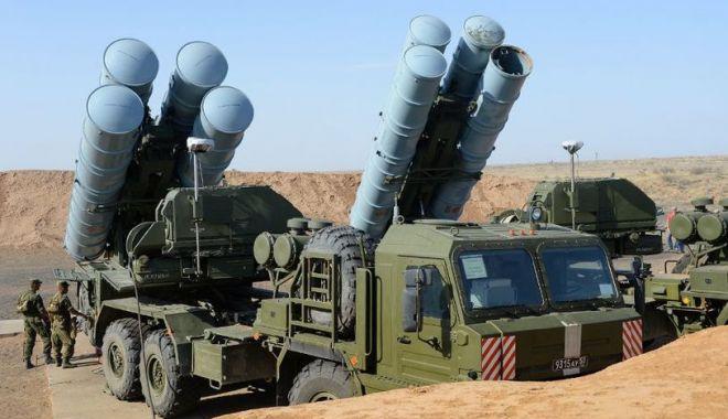 Foto: Sistemul de rachete ruseşti va ajunge în Turcia în cel mult zece zile
