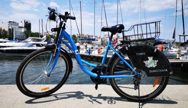 Foto: Sistemul de bike sharing devine din nou funcțional, la Constanța