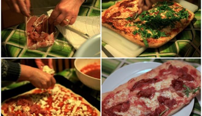 Foto: Pizza de cas�