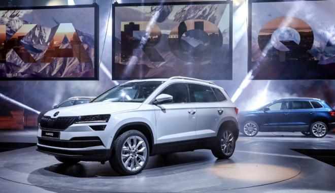Foto: Skoda propune şoferilor cel mai nou SUV din vârful segmentului său, Karoq