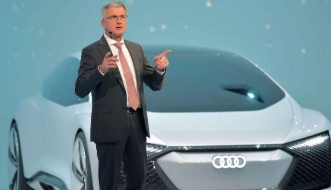 Foto: Șoc în Germania. Directorul general al Audi a fost arestat