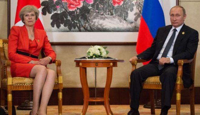 Foto: Război rece Londra-Moscova. 23 de diplomați ruși, expulzați după cazul spionului otrăvit