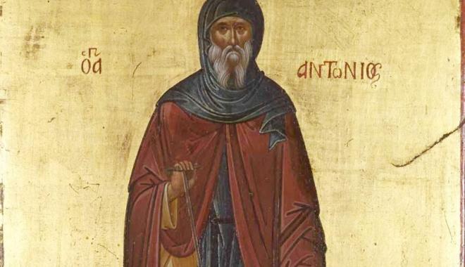 Foto: De ce îl cinstim pe Sfântul Cuvios Antonie cel Mare