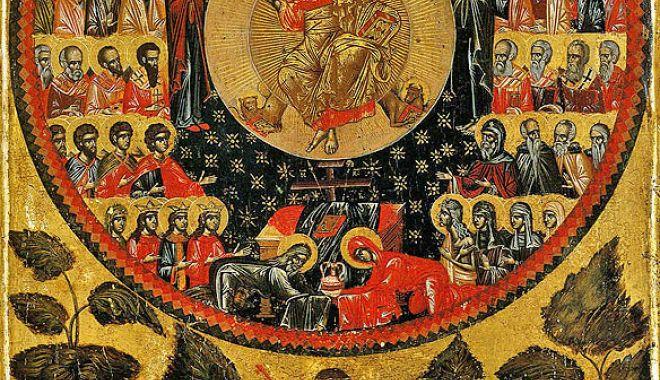 Foto: Slujbă la Mănăstirea Colilia, în Duminica Tuturor Sfinților