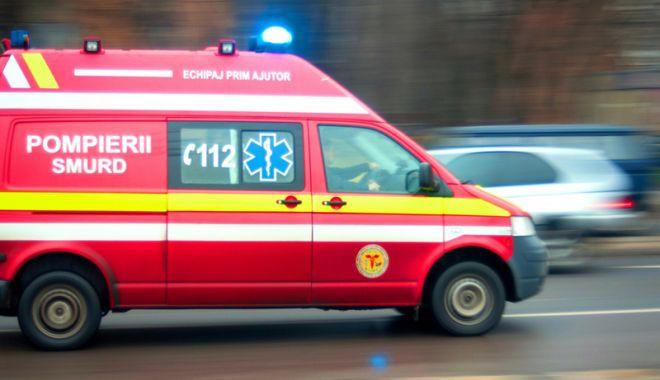 Foto: Şoferiţă rănită, după ce un conducător auto băut nu a păstrat distanţa de siguranţă