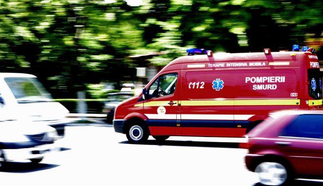 Foto: GRAV ACCIDENT RUTIER ÎN JUDEŢUL CONSTANŢA. Sunt patru victime!