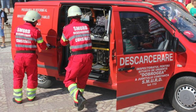 Foto: Accident rutier la Constanța! INTERVINE DESCARCERAREA!