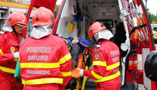 Foto: Accident rutier cu trei victime, între Eforie Sud și Eforie Nord