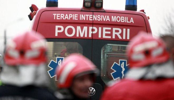 Foto: TRAGEDIE PE ŞOSEAUA MANGALIEI. Victimele, în stare extrem de gravă