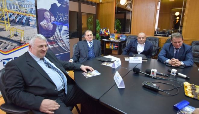 Foto: Socep - o companie 100% românească - face investiţii de zeci de milioane de euro  în portul Constanţa